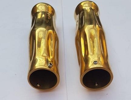 Brass Heavy Handle Grip Set