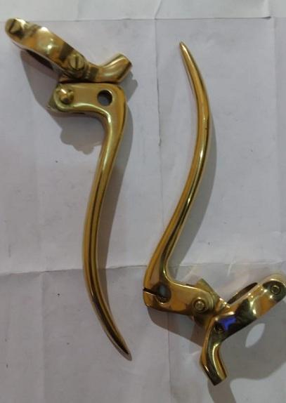 Brass Yoke lever re old model (long lever)