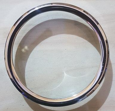 Brass Meter Ring Plain