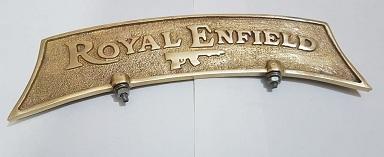 Bullet no. Plate ROYAL ENFIELD