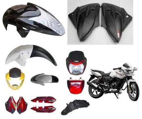 Piezas De Repuesto Para Carrocería De Motocicleta TVS